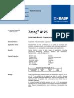 Coagulant Zetag 4125(HT)