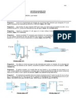 Mecanica de Fluidos Autoevaluación n5 de Energia