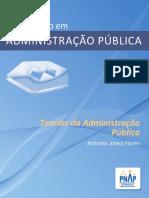 PNAP - Bacharelado - Teorias Da Administracao Publica