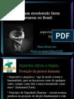 Pesquisas envolvendo Seres Humanos no Brasil