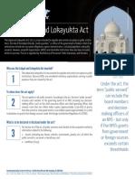 India FAQ 5 - Lokpal Act Final