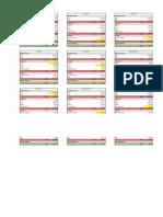 my budget spreadsheet - sheet1