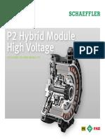 Hybrid P2 Shaefller