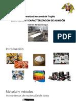 Extraccion y Caracterizacion de Almidon