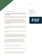 01 – CAPÍTULO I – DOS PRINCÍPIOS, OBJET...NIÇÕES | Capítulos da IN | LEI ROUANET