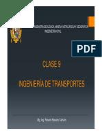 Ingeniería de Transportes c9 2018ii
