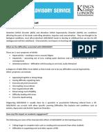 Das Fact Sheet (Adhd)