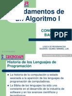 Sesion 01 - Fundamentos de Un Algoritmo