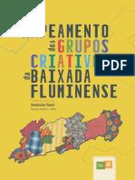 mapeamento cultural grupos criativos baixada fluminense