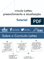 Tutorial CV Lattes - 2018