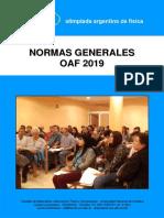Normas Oaf 2019