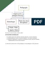 Pedagogia y Psicologia y Ramas de La Psicologia