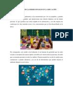 Impactos de Las Redes Sociales en La Educación