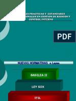 PRACTICAS ESTANDARES INTERNACIONALES GESTION DE RIESGOS - CONTROL INTERNO (1).ppt