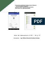 Guía de Laboratorio Nº 05 - 06 y 07