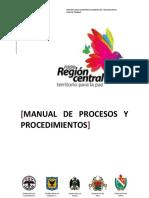 Manual de procesos