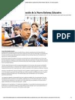 15-05-2019 Astudillo celebró la aprobación de la Nueva Reforma Educativa.