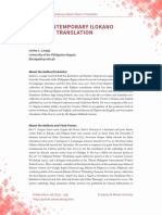 Four Contemporary Poems in Translation