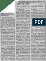 Edgard Romero Nava - PDVSA Ha Invertido Solo 50% de Lo Que Correspondia - El Nacional 15.06.1990