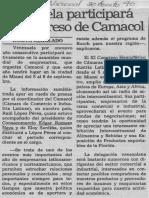 Edgard Romero Nava - Venezuela Participara en Congreso de Camacol - El Nacional 30.08.1990