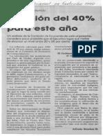 Estima Consecomercio inflacion del 40% este año - El Universal 08.09.1990