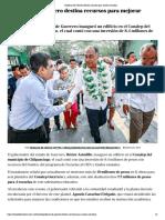 20-05-2019 Gobierno de Guerrero Destina Recursos Para Mejorar Escuelas.