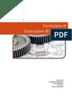 Formulario Costruzioni Di Macchine 2