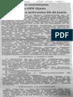 Instalacion de Comisiones Fedecamaras - CTV Fijada Para Proximo Miercoles 20 de Junio - Diario 2001 14.06.1990