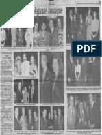 Sociales - Clement Inauguro Elegante Boutique - Diario 2001 09.07.1990