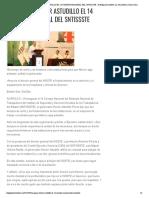 21-05-2019 INAUGURA HÉCTOR ASTUDILLO EL 14 CONSEJO NACIONAL DEL SNTISSSTE.