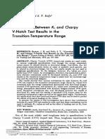 Barson & Rolfe - Correlations between KIC & Charpy V-notch.pdf