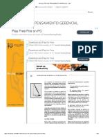 Evolución Del Pensamiento Gerencial - PDF