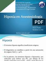 Hipoxia y Anestesia