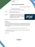 Carta Solicitud de Pago Giro Tayapamap