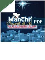 Manchita Um Presente de Natal - Convite