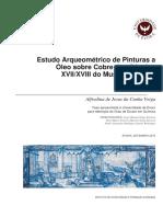 Estudo Arqueométrico de Pinturas a Óleo Sobre Cobre Dos Séculos XVII-XVIII Do Museu de Évora (1)