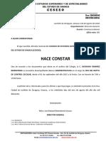 CONSTANCIAS - SUBDIRECCIÓN ACADÉMICA