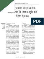 Fibra Optica en Piscinas