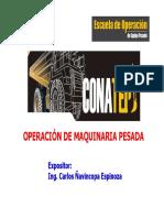 Operación de Equipo