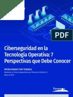 PonemonReport-Cybersecurity in Operational Technology Es-la