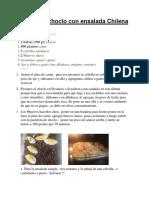 recetario chileno