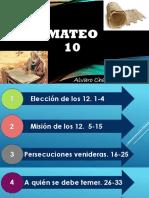 Mateo 10 (2a Parte)