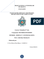 4- Informe System Hacking