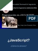 JavaScript Inicio