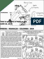 HOJITA EVANGELIO NIÑOS LA SOLEMNIDAD DE LA SANTÍSIMA TRINIDAD C 19 BN