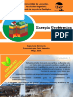 Presentación energía geotérmica