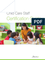 Child Care Staff Certification Guide