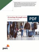 Pwc Uk Hotels Forecast Report 2019