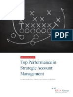 Top Performance in Strategic Account Management999
