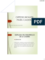Ortesis Infantil de Cadera